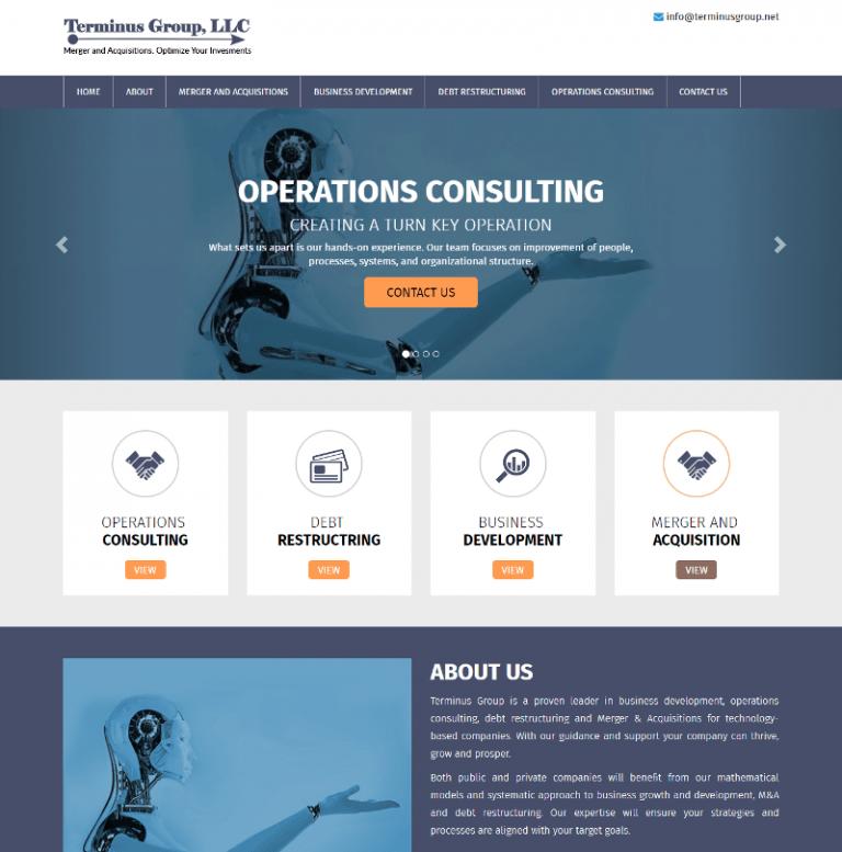 Tech website in Virginia designed by Suncoast Web Marketing
